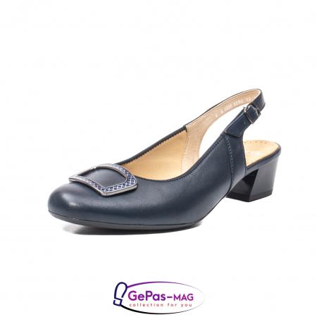 Pantofi piele decupati, AR35865-02 42-N0