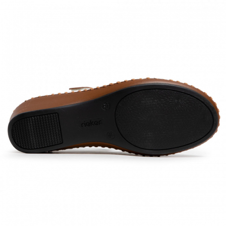 Pantofi decupati dama din piele naturala, N1657-80 [3]