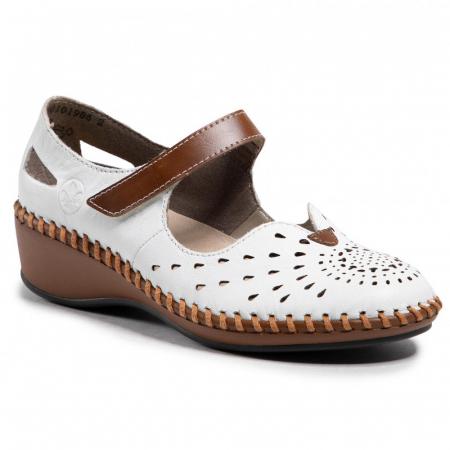 Pantofi decupati dama din piele naturala, N1657-80 [0]