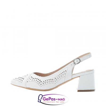 Pantofi decupati dama, piele naturala, 49175-806