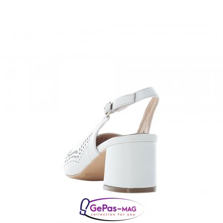 Pantofi decupati dama, piele naturala, 49175-802