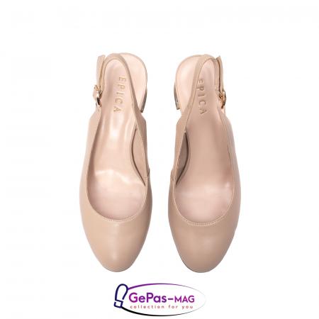 Pantofi decupati dama, piele naturala, JI1K1215