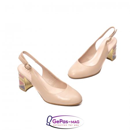Pantofi decupati dama, piele naturala, JI1K1211