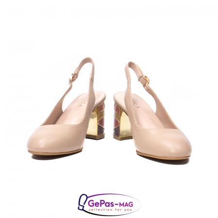 Pantofi decupati dama, piele naturala, JI1K1214