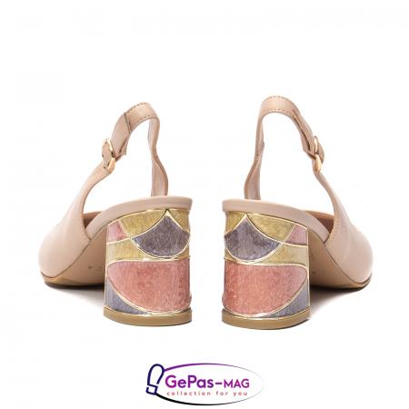 Pantofi decupati dama, piele naturala, JI1K1216