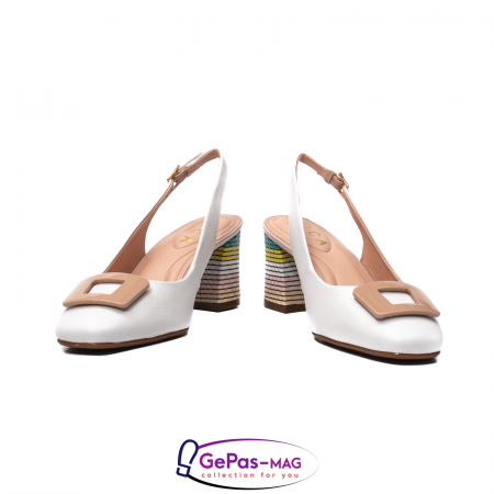 Pantofi decupati dama, piele naturala, OE100904