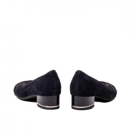 Pantofi eleganti dama, piele naturala nubuc, AR118365