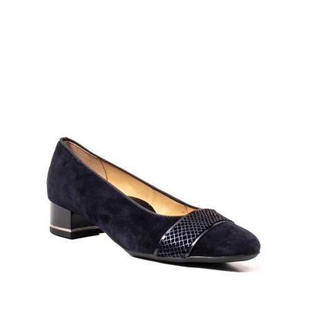 Pantofi eleganti dama, piele naturala nubuc, AR118360