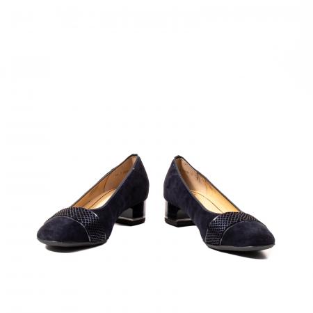 Pantofi eleganti dama, piele naturala nubuc, AR118361
