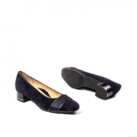 Pantofi eleganti dama, piele naturala nubuc, AR118363