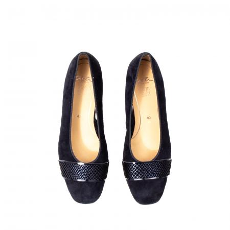 Pantofi eleganti dama, piele naturala nubuc, AR118362