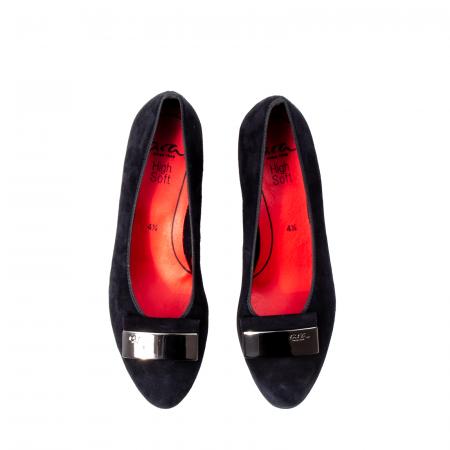 Pantofi eleganti dama, piele naturala nubuc, AR114885
