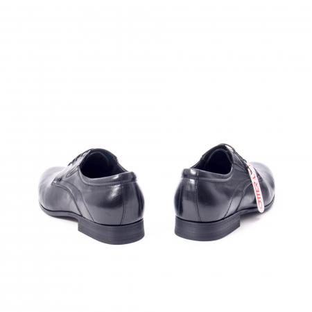 Pantofi eleganti barbat din piele naturala Otter QRA33531 01-N,negru6