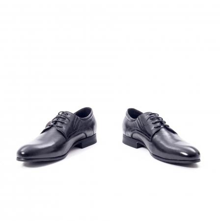 Pantofi eleganti barbat din piele naturala Otter QRA33531 01-N,negru4