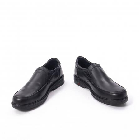 Pantofi eleganti barbati piele naturala, Catali 192561, negru4