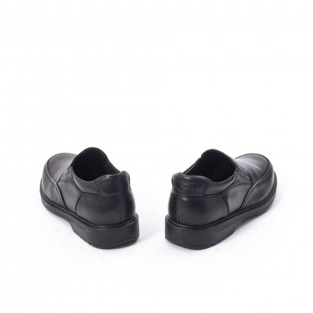 Pantofi eleganti barbati piele naturala, Catali 192561, negru6