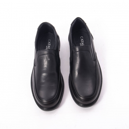 Pantofi eleganti barbati piele naturala, Catali 192561, negru5