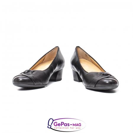 Pantofi eleganti dama din piele naturala neteda cu toc mic AR12-358114