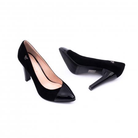Pantofi eleganti dama 6042 negru2