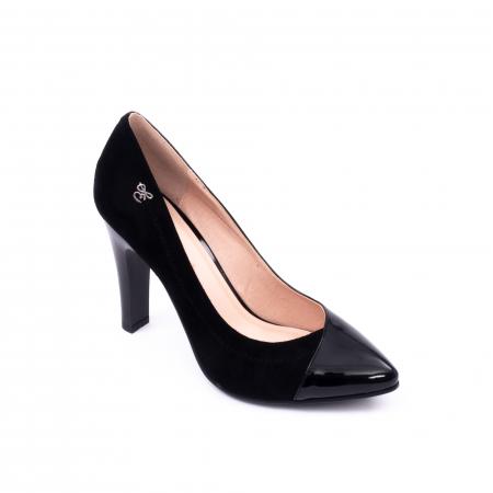 Pantofi eleganti dama 6042 negru0