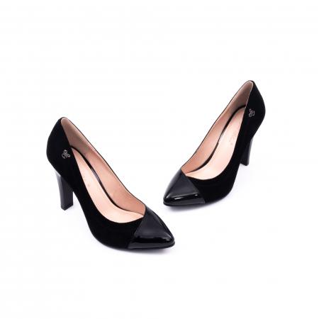 Pantofi eleganti dama 6042 negru1