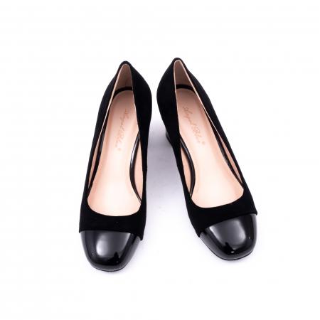 Pantofi eleganti dama 6046 negru5
