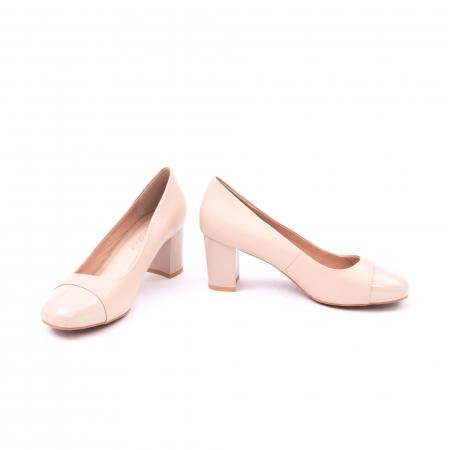 Pantofi eleganti dama 6046 nude5