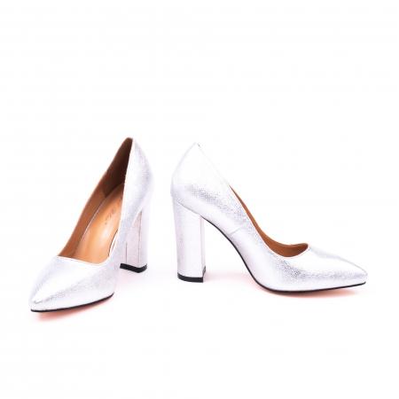 Pantofi eleganti dama 946 argintiu [4]