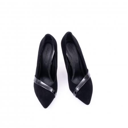 Pantofi eleganti dama 9516 negru5