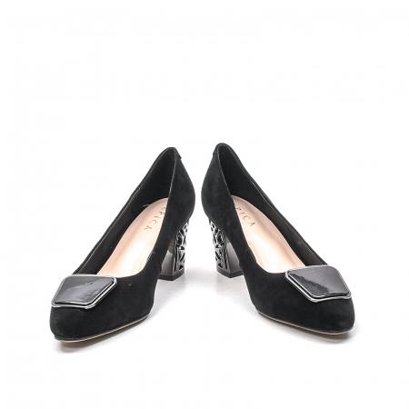 Pantofi dama eleganti din piele naturala, JIXQ675-MX8474