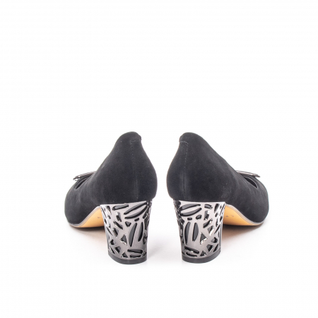 Pantofi dama eleganti din piele naturala, JIXQ675-MX8476