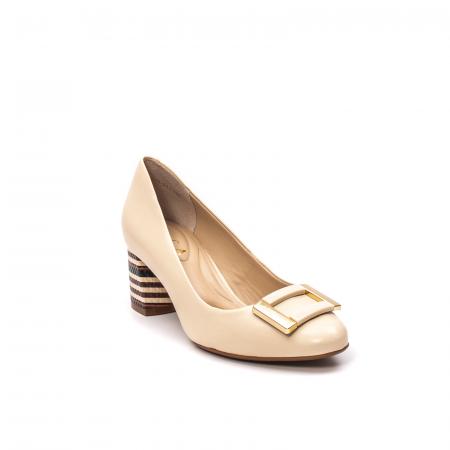Pantofi dama eleganti, piele naturala, EP 1678-561-586 B0
