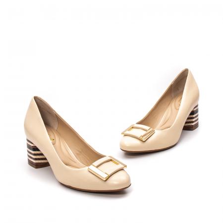 Pantofi dama eleganti, piele naturala, EP 1678-561-586 B1