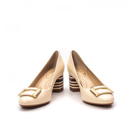 Pantofi dama eleganti, piele naturala, EP 1678-561-586 B4