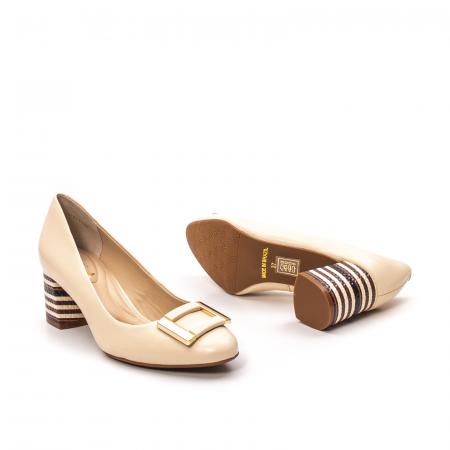 Pantofi dama eleganti, piele naturala, EP 1678-561-586 B3