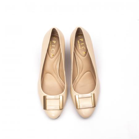 Pantofi dama eleganti, piele naturala, EP 1678-561-586 B5