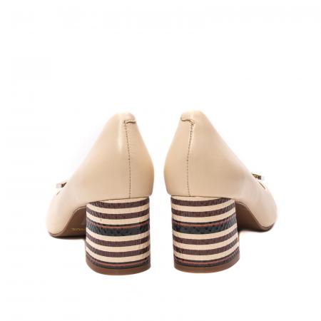 Pantofi dama eleganti, piele naturala, EP 1678-561-586 B6