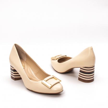 Pantofi dama eleganti, piele naturala, EP 1678-561-586 B2
