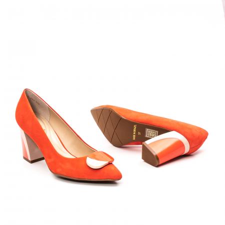 Pantofi dama eleganti, piele antilopa, EP 9628-538-6693