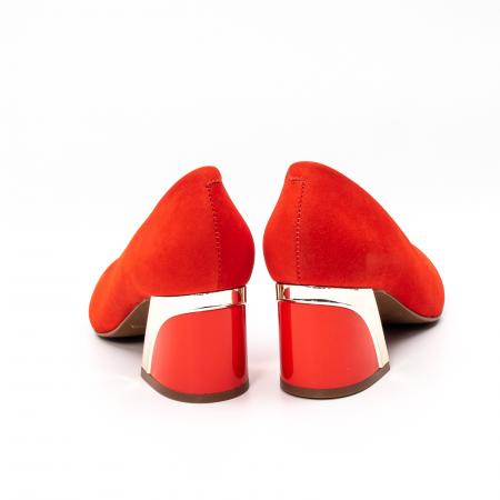 Pantofi dama eleganti, piele antilopa, EP 9690-535-6706