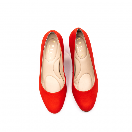 Pantofi dama eleganti, piele antilopa, EP 9690-535-6705