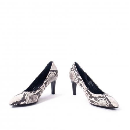 Pantofi eleganti dama piele naturala 3138030, python grau4