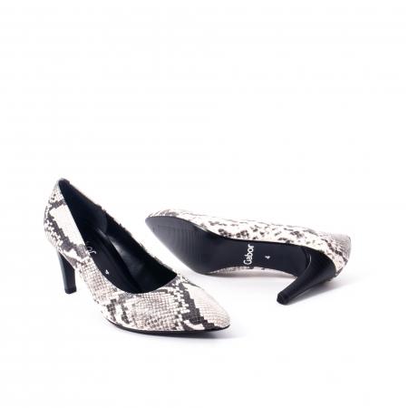 Pantofi eleganti dama piele naturala 3138030, python grau3