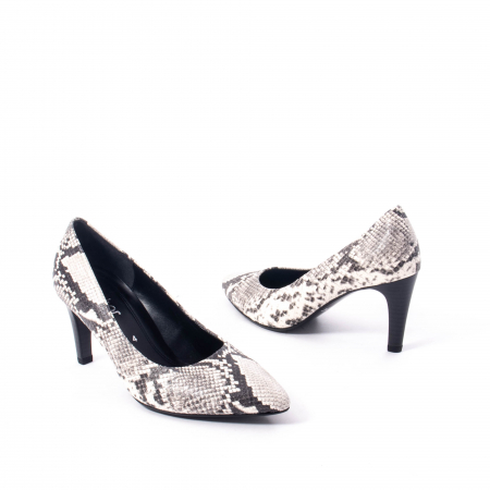 Pantofi eleganti dama piele naturala 3138030, python grau2