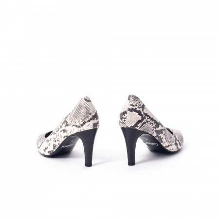 Pantofi eleganti dama piele naturala 3138030, python grau6