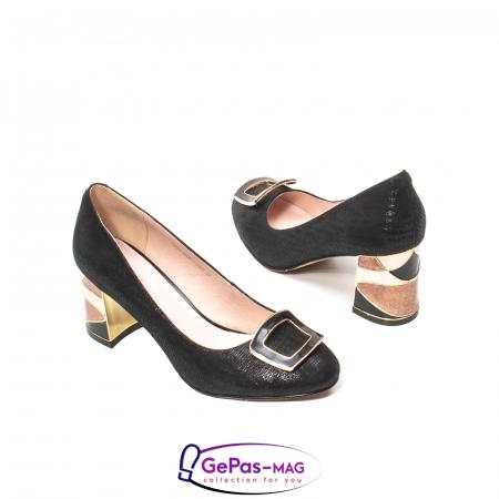 Pantofi eleganti dama, piele naturala, JIX5302