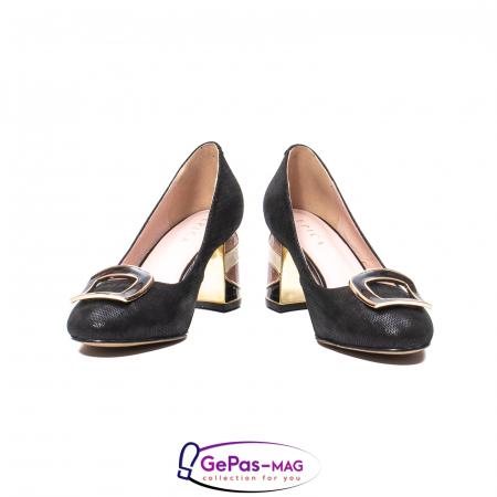 Pantofi eleganti dama, piele naturala, JIX5304