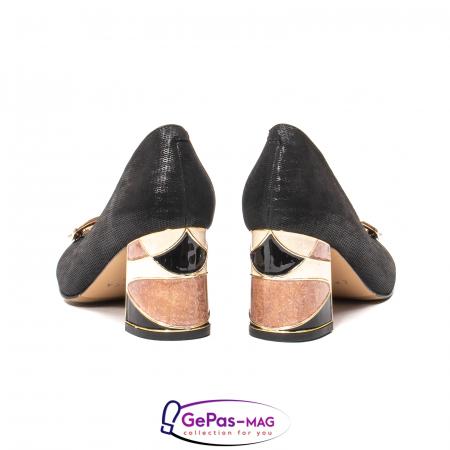 Pantofi eleganti dama, piele naturala, JIX5306