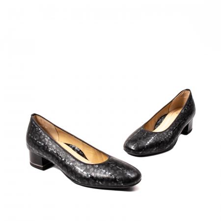 Pantofi eleganti dama, piele naturala lacuita, AR118381