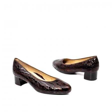 Pantofi eleganti dama, piele naturala lacuita, AR16601 M2